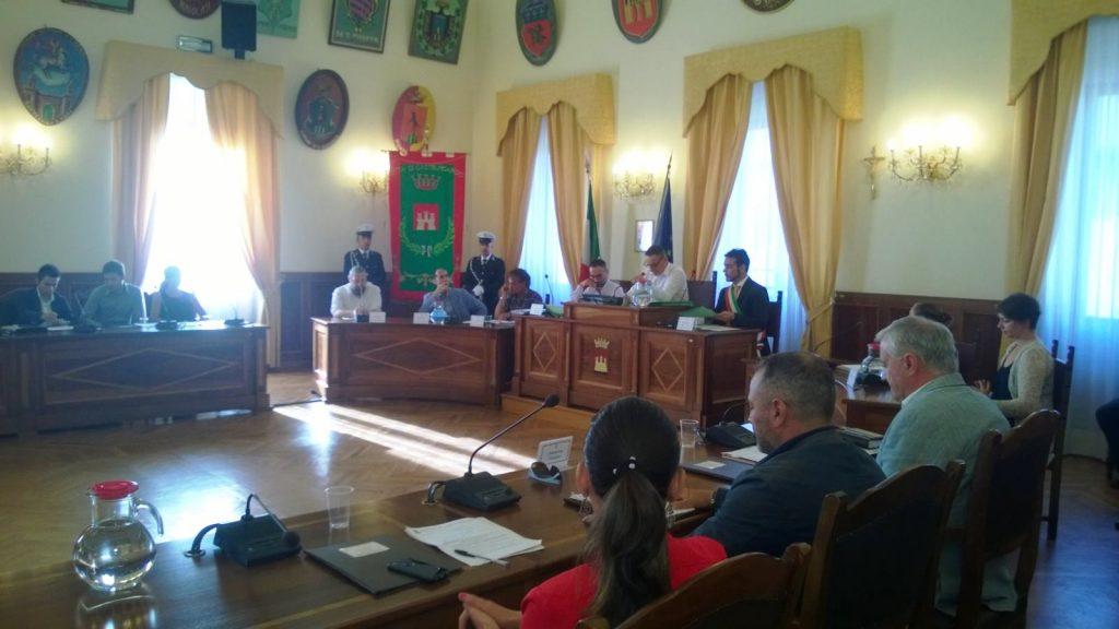 Una seduta del Consiglio Comunale di Castelfidardo