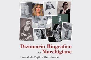 """La copertina del """"Dizionario Biografico delle Marchigiane"""""""
