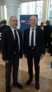 A sinistra il console russo Marco Ginesi e Ferdinando Palazzo
