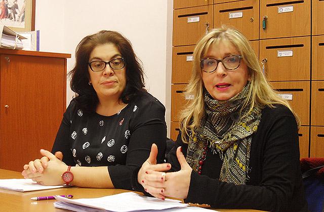 Elisabetta Palma e Stefania Martinangeli