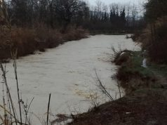 Il fiume Misa a Senigallia, zona Bettolelle