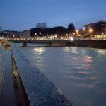 Il fiume Misa a Senigallia, il ponte Garibaldi