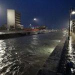 Il fiume Misa a Senigallia, zona porto
