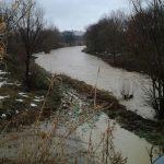 Il fiume Misa a Senigallia, zona Vallone
