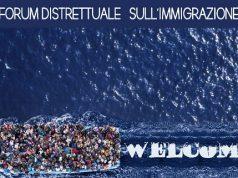Locandina del Forum Immigrazione organizzato dal Rotary Jesi