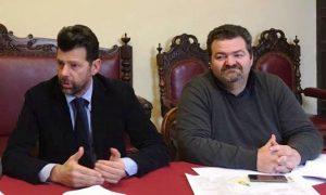 Maurizio Mangialardi ed Enzo Monachesi