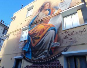 murale Clio