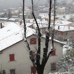 Neve a Ostra Vetere: i tetti imbiancati