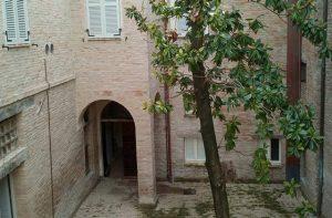 Palazzo Gambelli a Ostra Vetere dopo l'intervento di riqualificazione