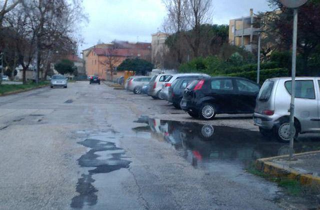 pioggia e maltempo a Senigallia