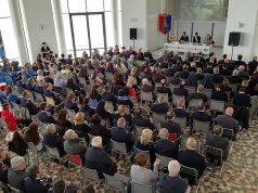 La cerimonia per i 70 anni degli Stabilimenti della Polizia di Stato a Senigallia