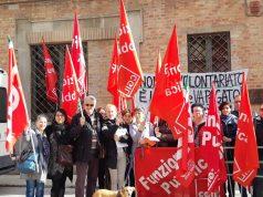 Sciopero dei lavoratori dell'ex cooperativa Agorà Marche