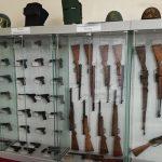 Il centro recuperi delle armi presso gli stabilimenti della Polizia di Stato di Senigallia