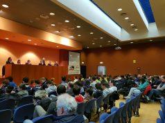 L'incontro sulla sicurezza stradale che si è svolto ieri, sabato 17 marzo, presso la sala convegni della FIGC Marche ad Ancona
