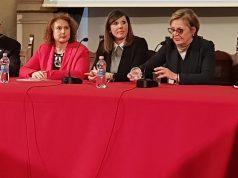 Da sinistra, Enzo Chionne, Flora D'Ambrosio, Francesca Raffaelli, Marilena Capriotti, Maria Luisa Martinuzzi