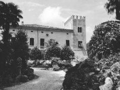 La villa Cesarini Duranti a Corinaldo nel 1939, fotografata da Mario Carafòli