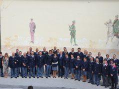 La visita nel settembre 2016 del capo della Polizia Franco Gabrielli agli stabilimenti della Polizia di Stato di Senigallia