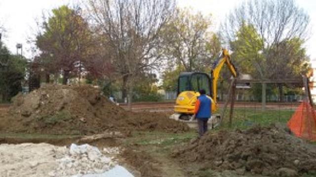 Posatora: danni al Parco Amico, ignoti entrano nel cantiere dell'area giochi inclusiva