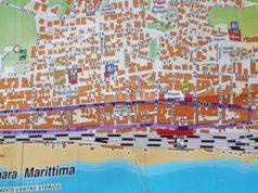 La mappa del Percorso (Foto: Comitato Mal'Aria)