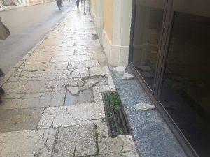 Marciapiede Corso Matteotti
