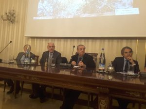 L'incontro si è svolto a Palazzo Bisaccioni sede della Fondazione Carisj