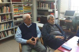 Giuseppe Padula (a sinistra)