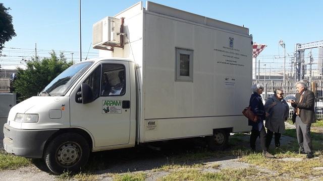 Ancona: posizionata alla Palombella la centralina di monitoraggio dell'inquinamento da PM 10