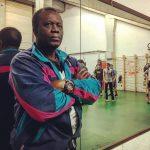 L'allenatore Claude Tshiyekela (foto di Jana Chiorri)