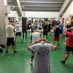 Allenamenti nella palestra di boxe del PalaGuerrieri (foto di Jana Chiorri)