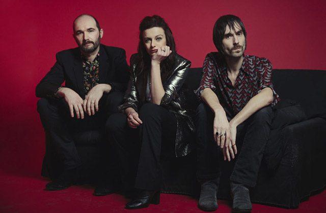 i Baustelle nella foto di Gianluca Moro: da sinistra Claudio Brasini, Rachele Bastreghi e Francesco Bianconi