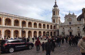 La piazza di Loreto