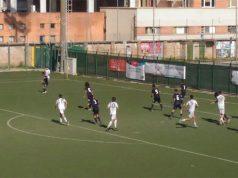 Una fase del match tra Fc Vigor Senigallia e Gabicce Gradara