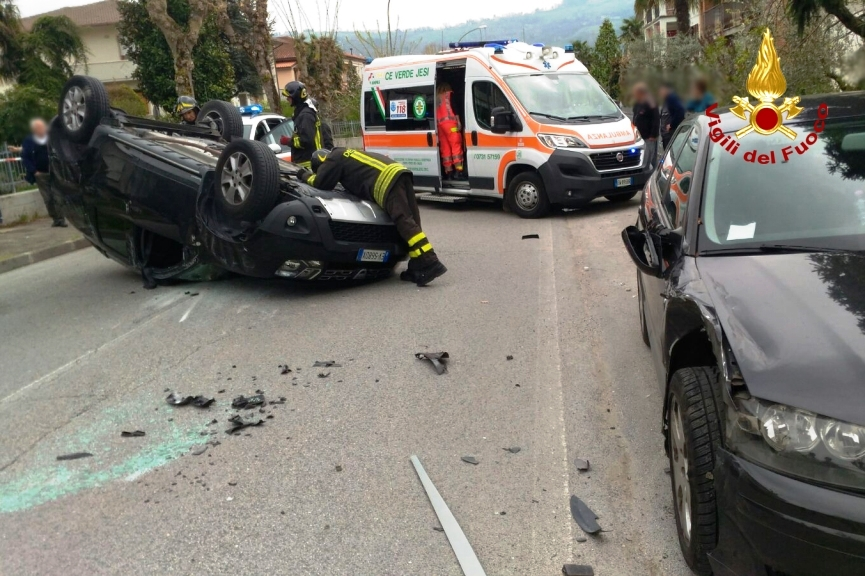 Incidente stradale moie