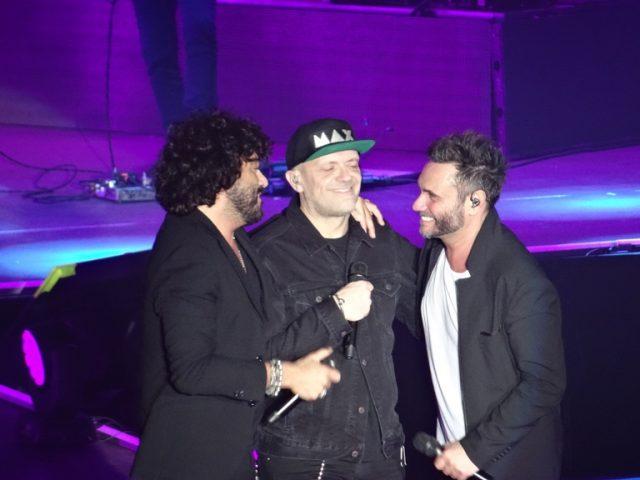 Max Pezzali, Nek e Francesco Renga in concerto ad Ancona
