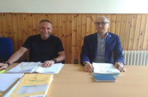 Sergio Mosconi e Franco Pesaresi (Asp)