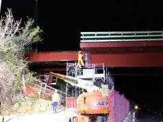 La ricostruzione del ponte