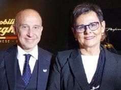 la vice presidente Anna Casini con l'ambasciatore d'Italia a Tokyo Giorgio Starace