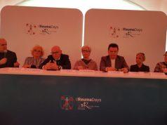 relatori del convegno, da sinistra Walter Grassi, Maria Celeste Pennoni, Fabrizio Volpini, Emma Capogrossi, Ferdinando Silvestri, Stella Rosi, Annamaria Temperini