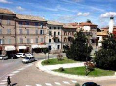 Piazza Mazzini a Chiaravalle