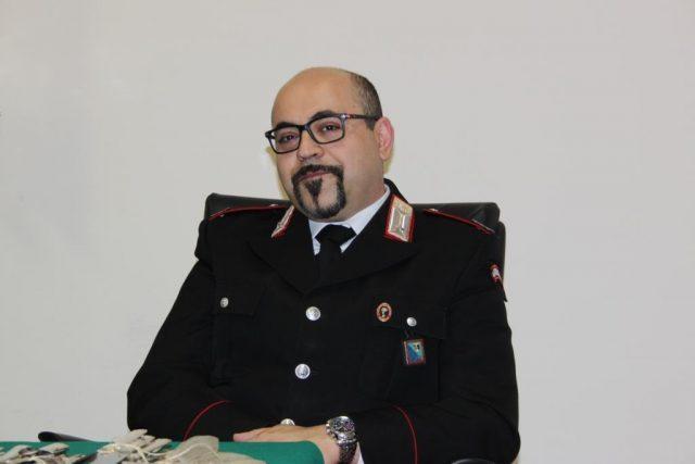 Il maresciallo Marco Bauco comandante della Stazione Carabinieri di Castelplanio
