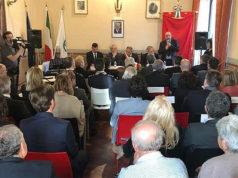"""Cerimonia per il titolo di """"città"""" a Trecastelli, la realtà nata dalla fusione di tre comuni: Ripe, Monterado e Castel Colonna"""
