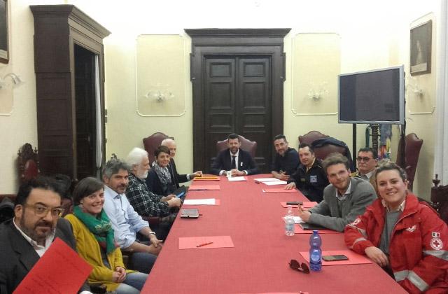 Riunione del Comitato comunale delle associazioni e dei gruppi di protezione civile di Senigallia