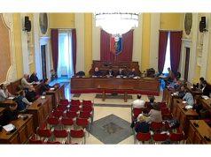 La commissione consiliare a Senigallia dove è intervenuto l'assessore regionale Sciapichetti