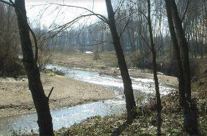 Il fiume Misa al Vallone di Senigallia