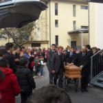 Tanti senigalliesi hanno partecipato ai funerali di Stefano Pompei