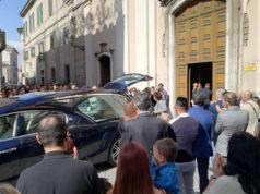 """I funerali a Senigallia dell'imprenditore Umberto Pacini detto """"Puccio"""""""