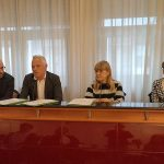 L'intervento del vicepreside dell'istituto Panzini Goffredo Giovanelli