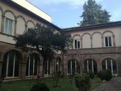 Il chiostro del monastero delle Clarisse a Fabriano