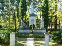 Il monumento ai Caduti a Fabriano