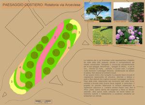 """Progetto """"5 paesaggi per 5 rotatorie"""": la rotatoria di via Arceviese (paesaggio costiero)"""